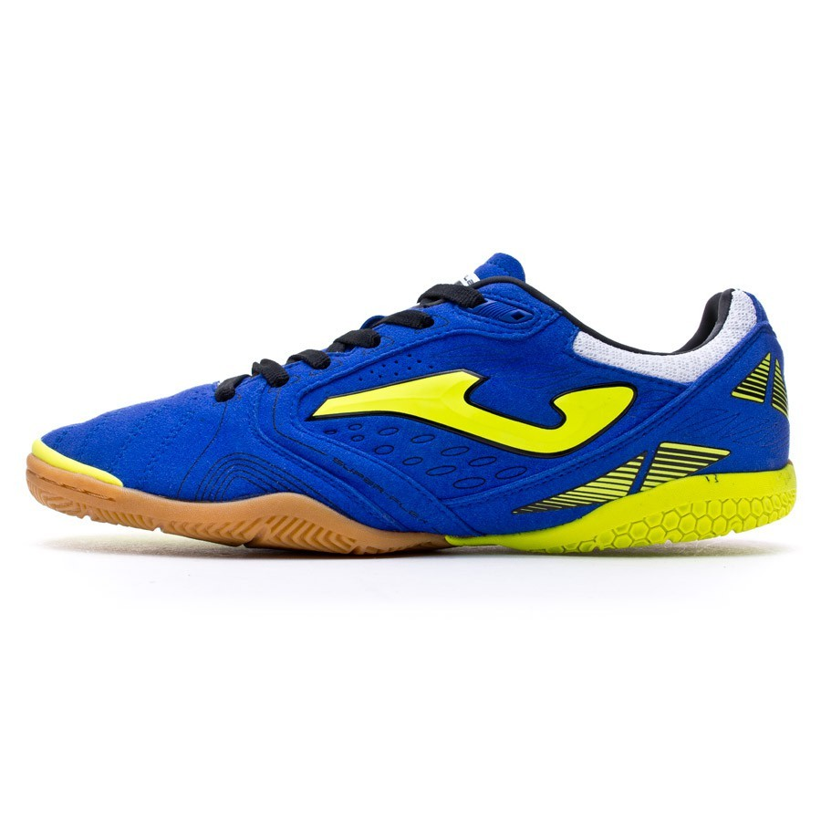 96e891b4cd499 Futsal Boot Joma Super Flex Marino-Yellow - Football store F ...