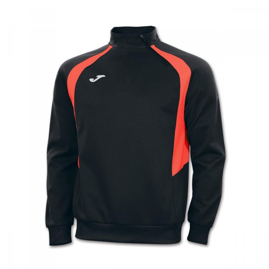 sweat joma champion iii noir orange boutique de football f tbol emotion. Black Bedroom Furniture Sets. Home Design Ideas