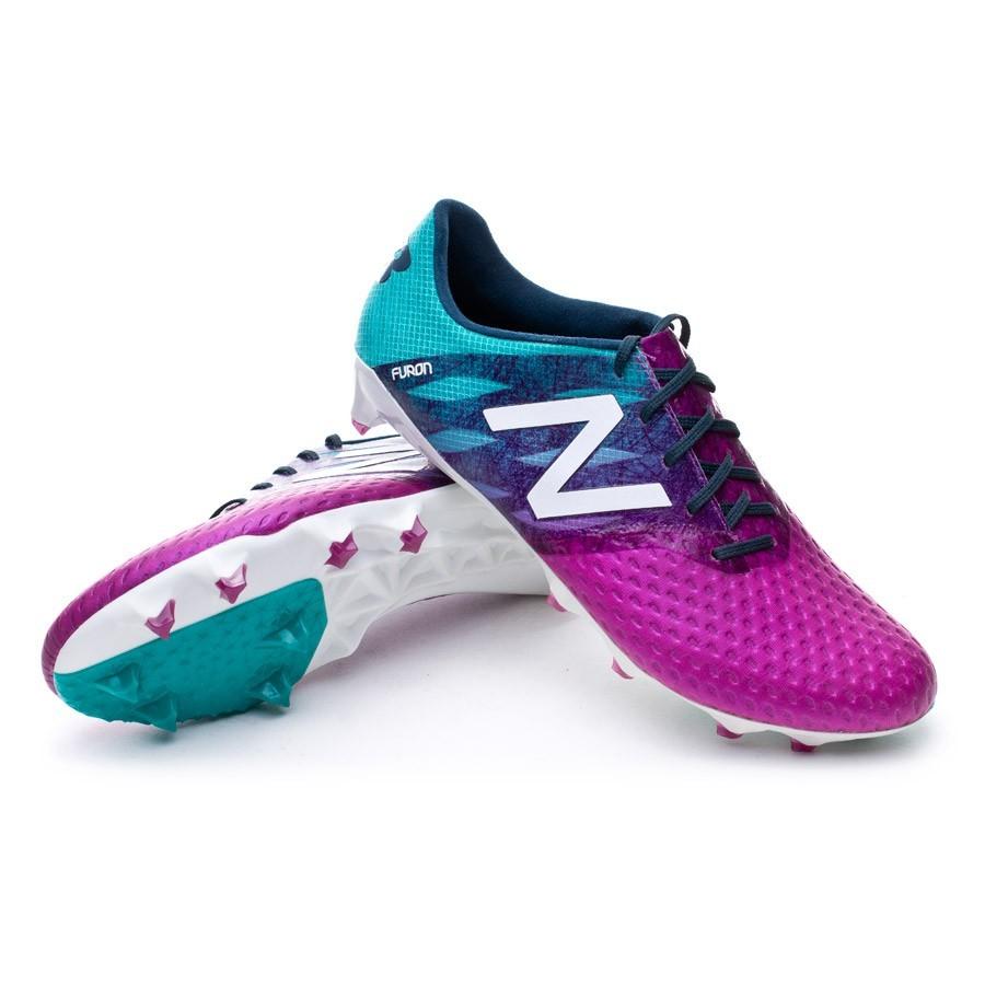 a12f4fe652977 Scarpe New Balance Furon Pro FG Purple-Green - Negozio di calcio Fútbol  Emotion