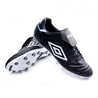 Chaussure de foot  Umbro Speciali Eternal Pro HG Black-White-Clematis blue
