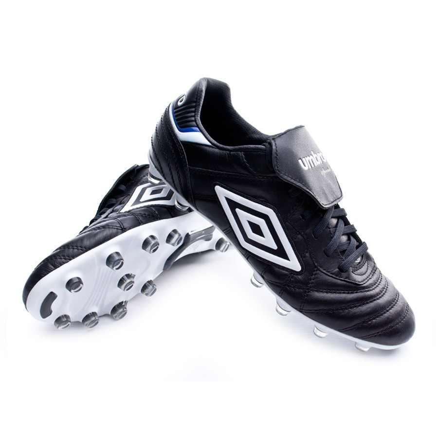 Boot Umbro Speciali Eternal Pro HG Black-White-Clematis blue - Leaked soccer 2336bef8d6c