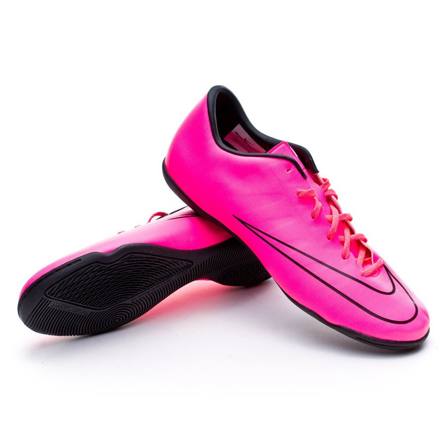 Tenis Nike Mercurial Victory V IC Hyper pink-Black - Soloporteros es ahora  Fútbol Emotion 3fc6e4709163a