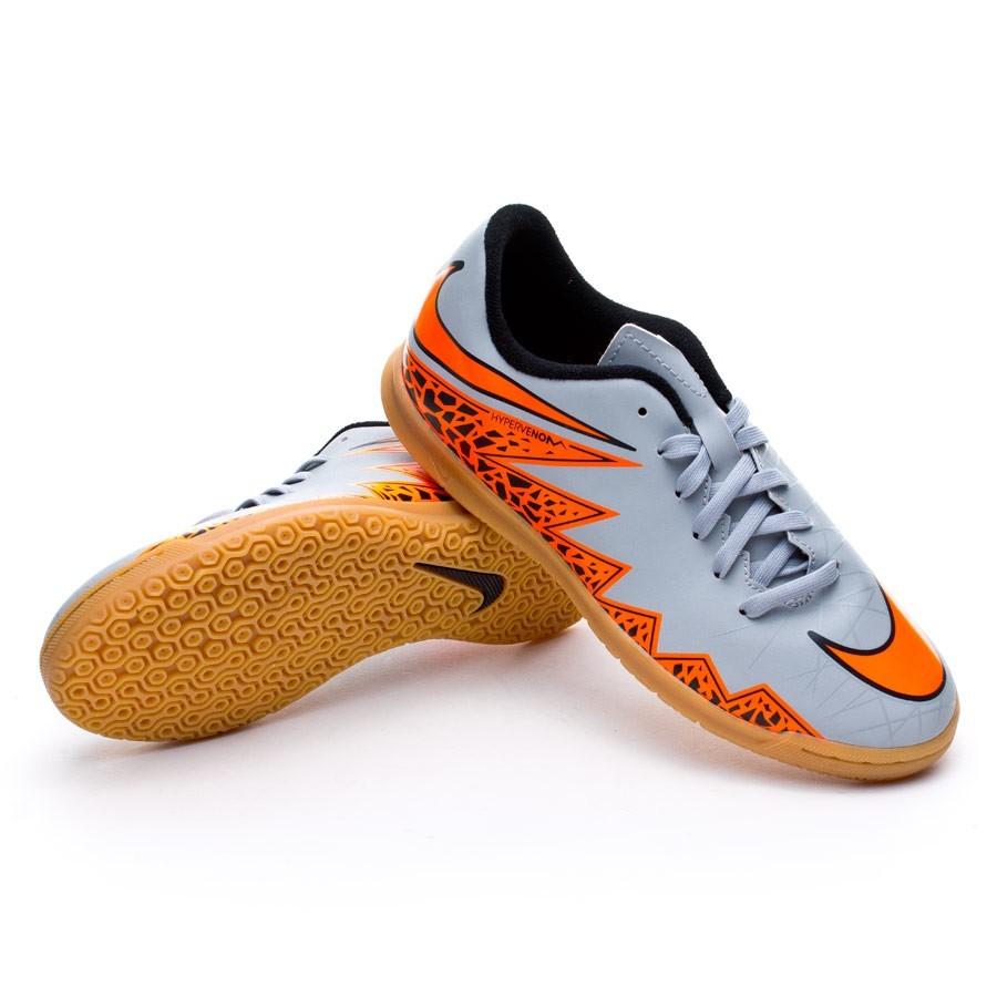 Tenis Nike Hypervenom Phade II IC Niño Wolf grey-Total orange-Black -  Soloporteros es ahora Fútbol Emotion c02e9dd7f9b84