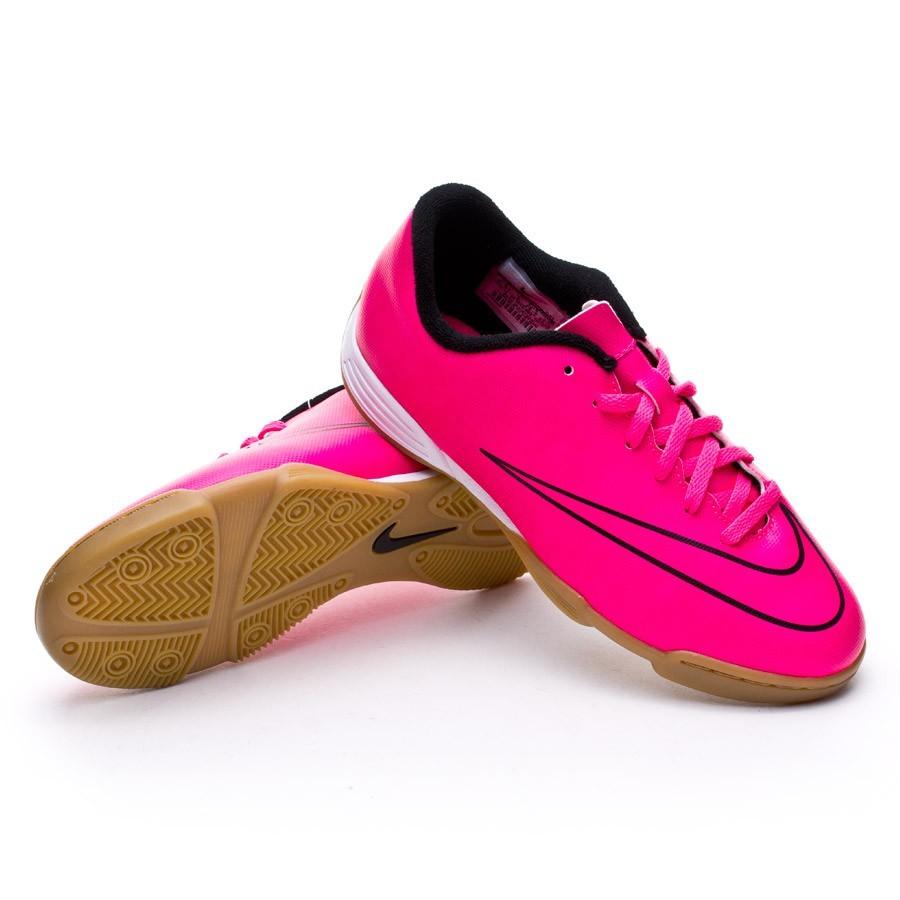 eaaf155489610 Futsal Boot Nike Mercurial Vortex II IC Kids Hyper pink - Tienda de ...