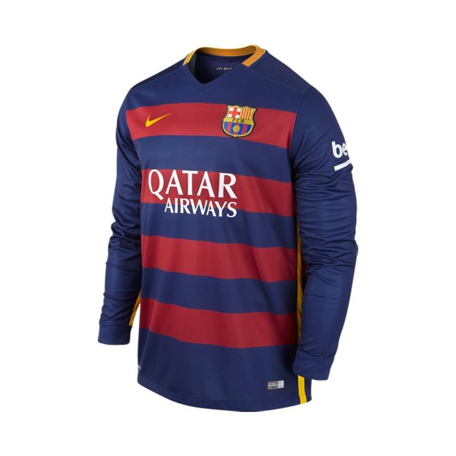 Camiseta Nike FC Barcelona m l Primera Equipación 2015-2016 Loyal ... 964c2fa9ac895