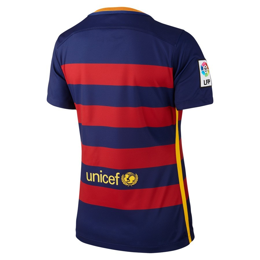 f0e137af899d6 Playera Nike FC Barcelona Primera Equipación Mujer 2015-2016 Loyal  blue-Sotrmred-University gold - Tienda de fútbol Fútbol Emotion