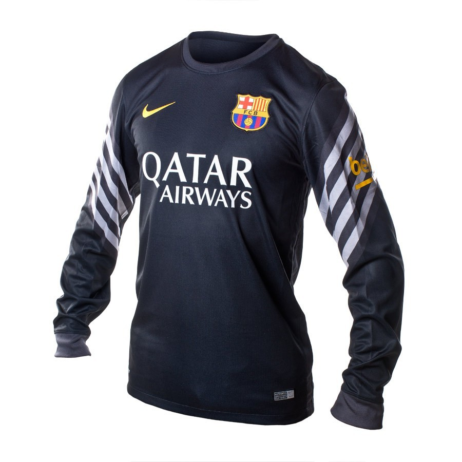c452ca0d1cc Jersey Nike Jr FC Barcelona Portero 2015-2016 Black-Anthracite-University  gold - Football store Fútbol Emotion