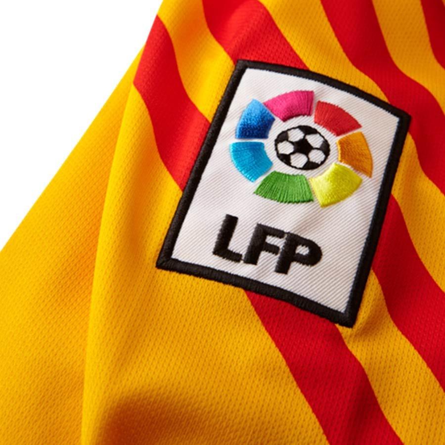 Playera Nike FC Barcelona Portero 2015-2016 Niño University gold-Loyal blue  - Soloporteros es ahora Fútbol Emotion 43e2648ee63