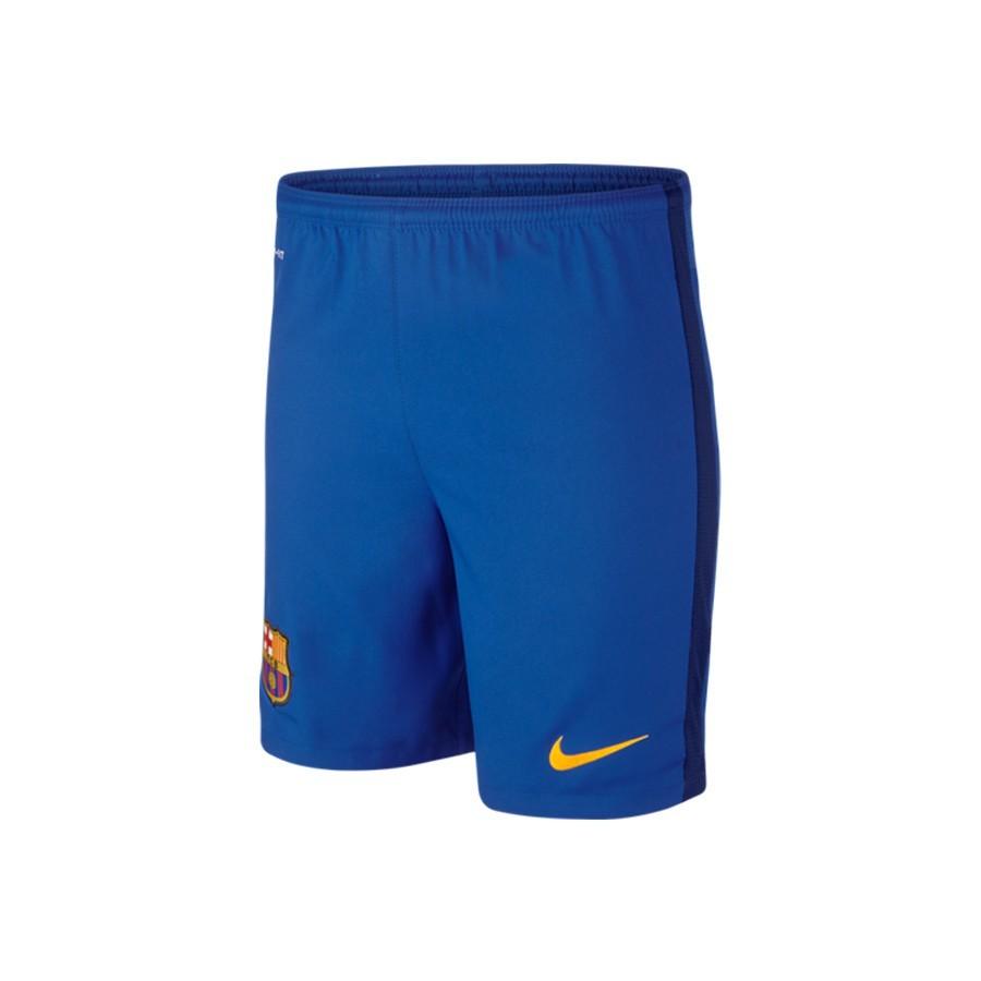33b07cfc2b7eb Shorts Nike Jr FC Barcelona Away 2015-2016 Bright blue-Loyal blue ...