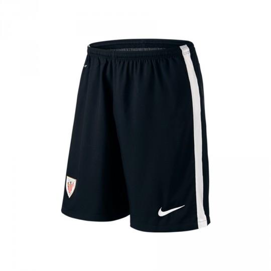 Pantalón corto  Nike AC Bilbao Home 2015-2016 Black-White
