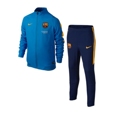 92397ffacc549 Chándal Nike FC Barcelona Revolution 2015-2016 Niño Photo blue-University  gold - Tienda de fútbol Fútbol Emotion