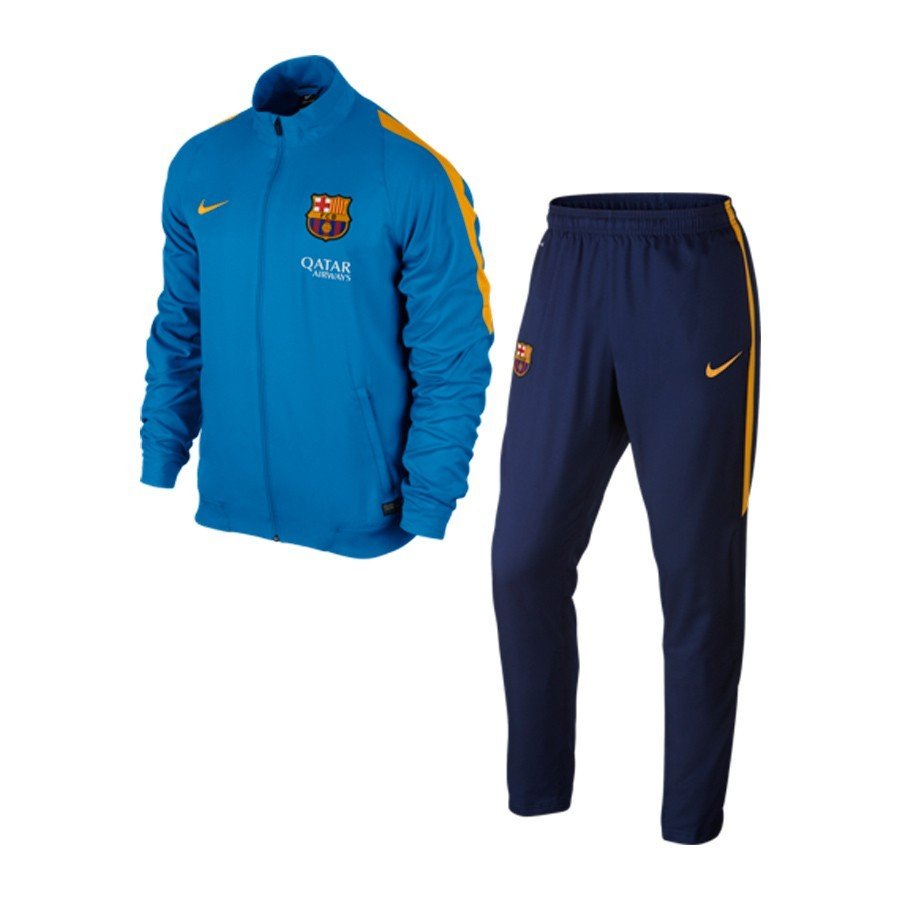 34f0476035e57 Chándal Nike FC Barcelona Revolution 2015-2016 Photo blue-University gold -  Soloporteros es ahora Fútbol Emotion