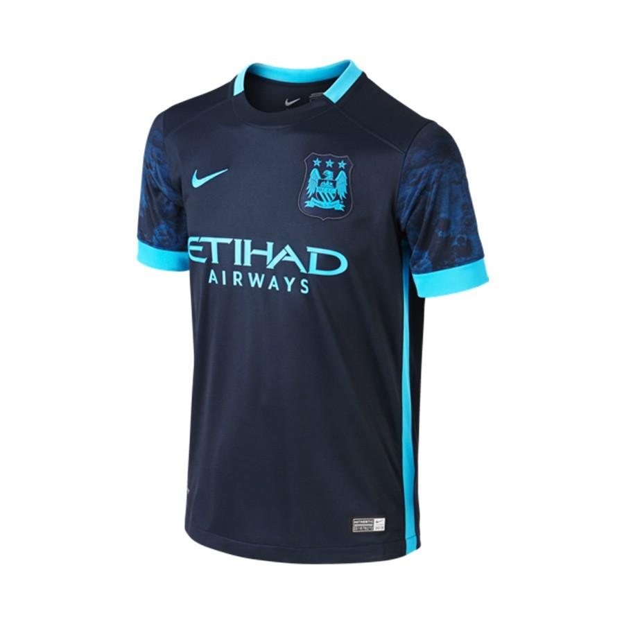 Camiseta Nike Manchester City FC Segunda Equipación Stadium 2015 ... 017a0171e6e93