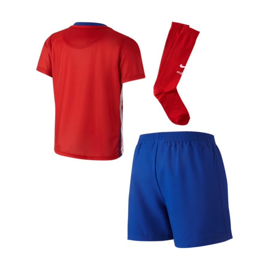 842618c2f Conjunto Nike Atlético de Madrid Primera Equipación Stadium 2015-2016 Niño  Varsity red-White-Drenched blue - Tienda de fútbol Fútbol Emotion
