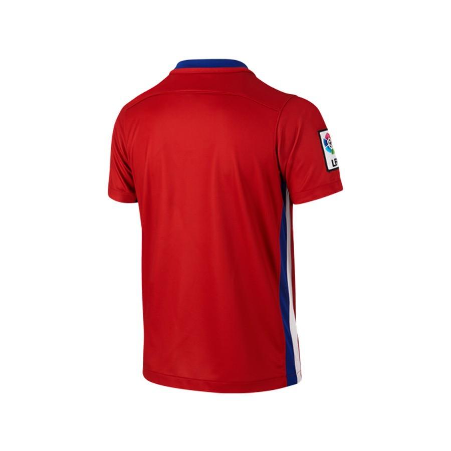 f4e6f6d5a Camiseta Nike Atlético de Madrid Primera Equipación Stadium 2015-2016 Niño  Varsity red-White-Drenched blue - Tienda de fútbol Fútbol Emotion