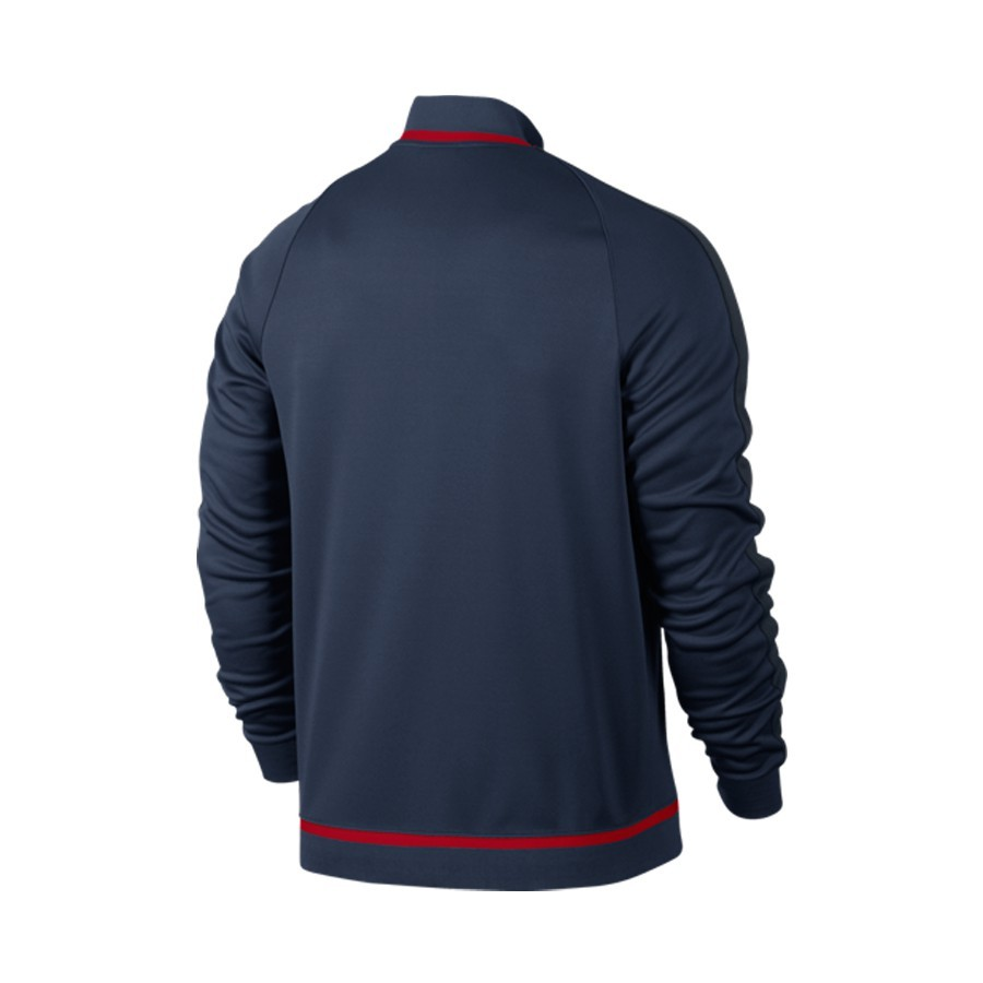 316237d6c53c1 Jacket Nike Atlético de Madrid N98 Authentic 2015-2016 Midnight navy ...