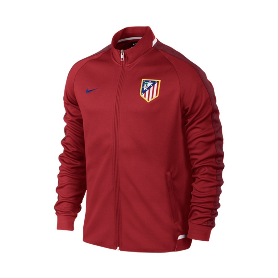 a356c3cc4 Jacket Nike Atlético de Madrid N98 Authentic 2015-2016 Varsity red ...