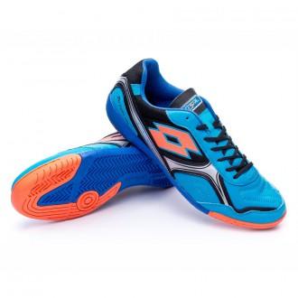 Sapatilha de Futsal  Lotto Torcida XIII ID Blue bombay-Black
