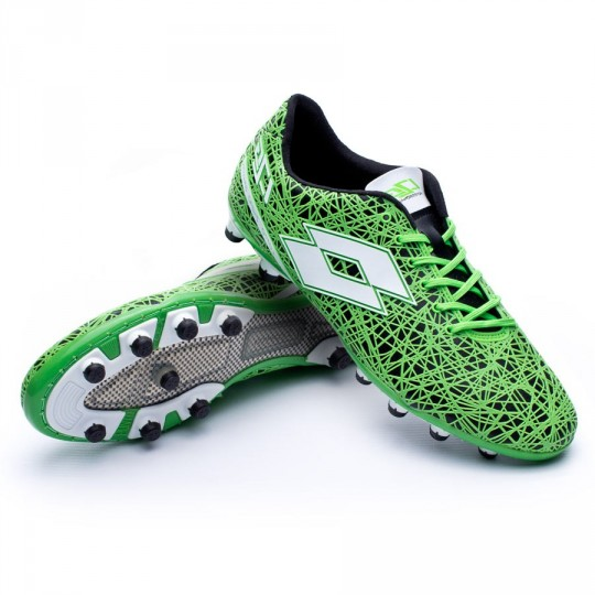 Chuteira  Lotto Zhero Gravity VII 200 Black-Mint fluor