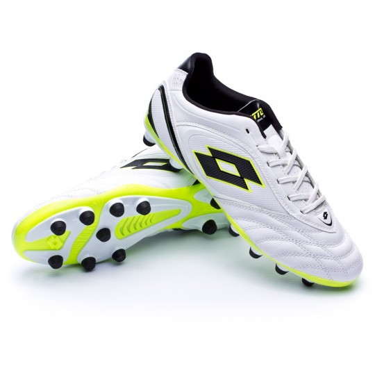 Chuteira  Lotto Stadio Potenza VI 300 White-Black