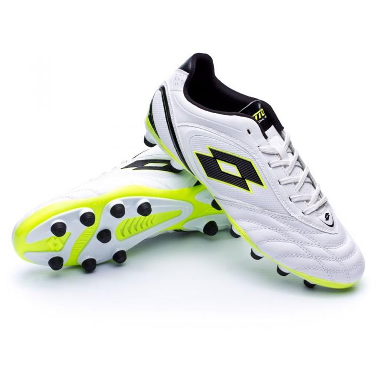 Zapatos de fútbol Lotto Stadio Potenza VI 300 White-Black ... fef1849a2e6d3