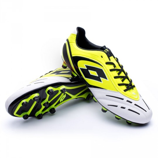 Chuteira  Lotto Stadio Potenza VI 700 Yellow safety-White