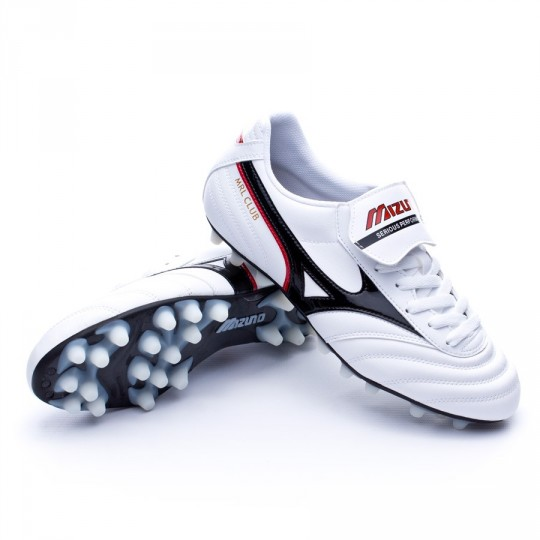 Bota  Mizuno Morelia Club 24 Pearl-Black-Red