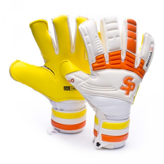 Guante  SP Mussa Strong XT Exclusivo Roberto Blanco-Naranja