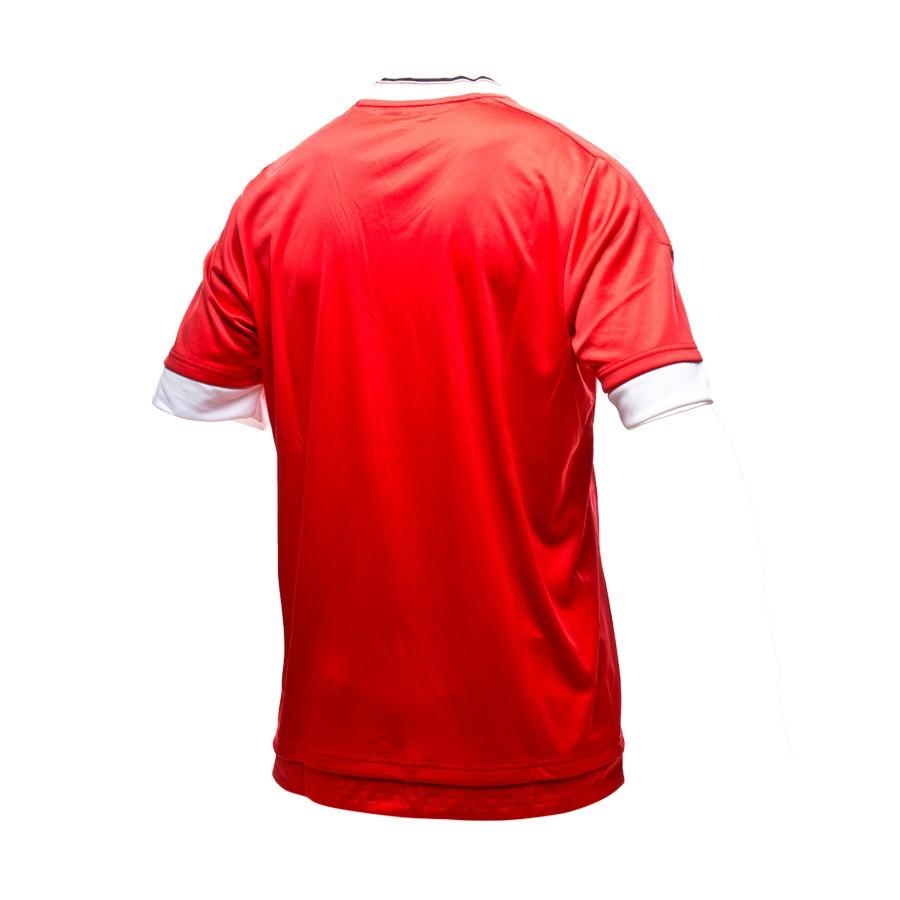 540f073d9cd Jersey adidas Manchester United Home 2015-16 Solar red - Tienda de ...
