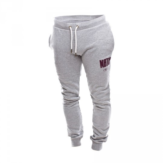 Pantalón largo  New Balance NBTC Mujer Grey