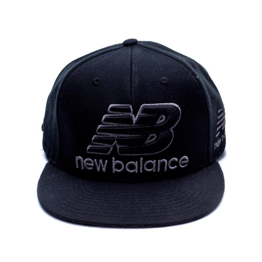 3dedb7e11f8 Cap New Balance Courtside B.O. Black - Soloporteros es ahora Fútbol Emotion