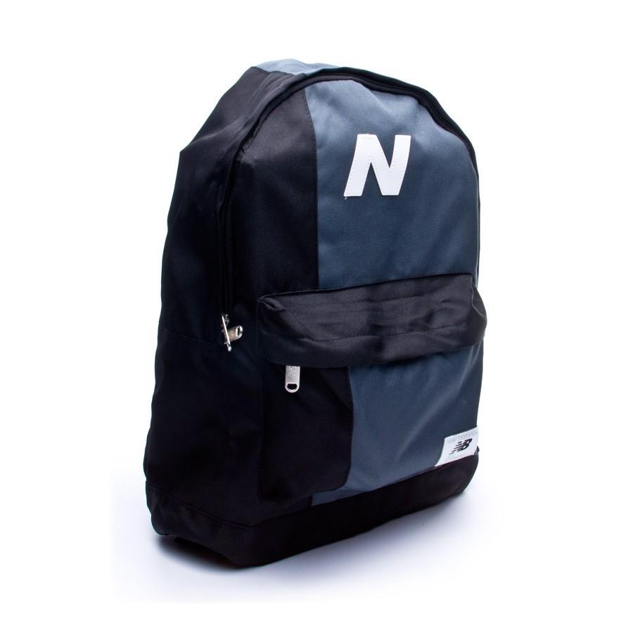 2af06dfc354 Backpack New Balance Mellow Block Black-Grey - Football store Fútbol ...