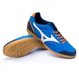 Sapatilha de Futsal  Mizuno Sala Club 2 IN Directoire blue-White