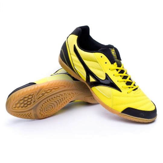 Sapatilha de Futsal  Mizuno Sala Club 2 IN Yellow-Black