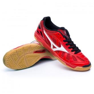 Sapatilha de Futsal  Mizuno Sala Premium IN Red-White-Black