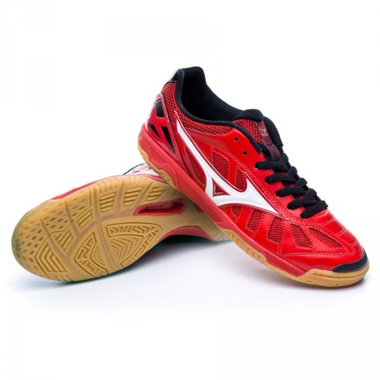 Sapatilha de Futsal  Mizuno Sala Premium IN Red-White-Black