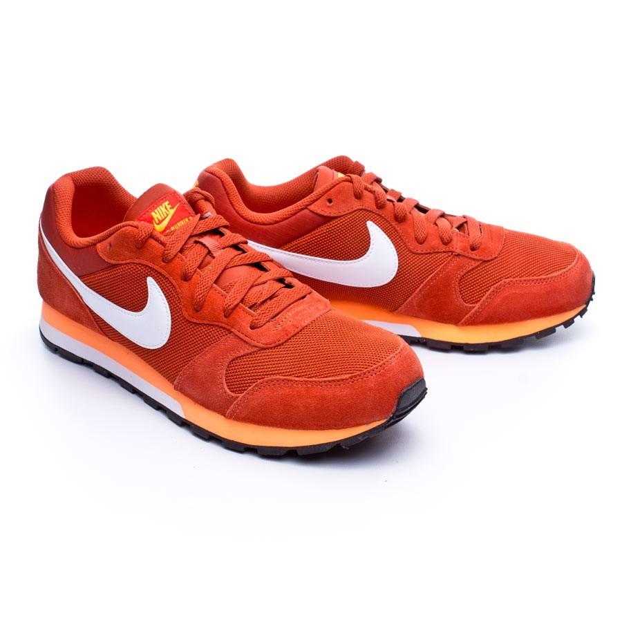 d9fe0203d40 Baskets Nike MD Runner 2 Cinnabar-White-Total Orange - Boutique de football  Fútbol Emotion