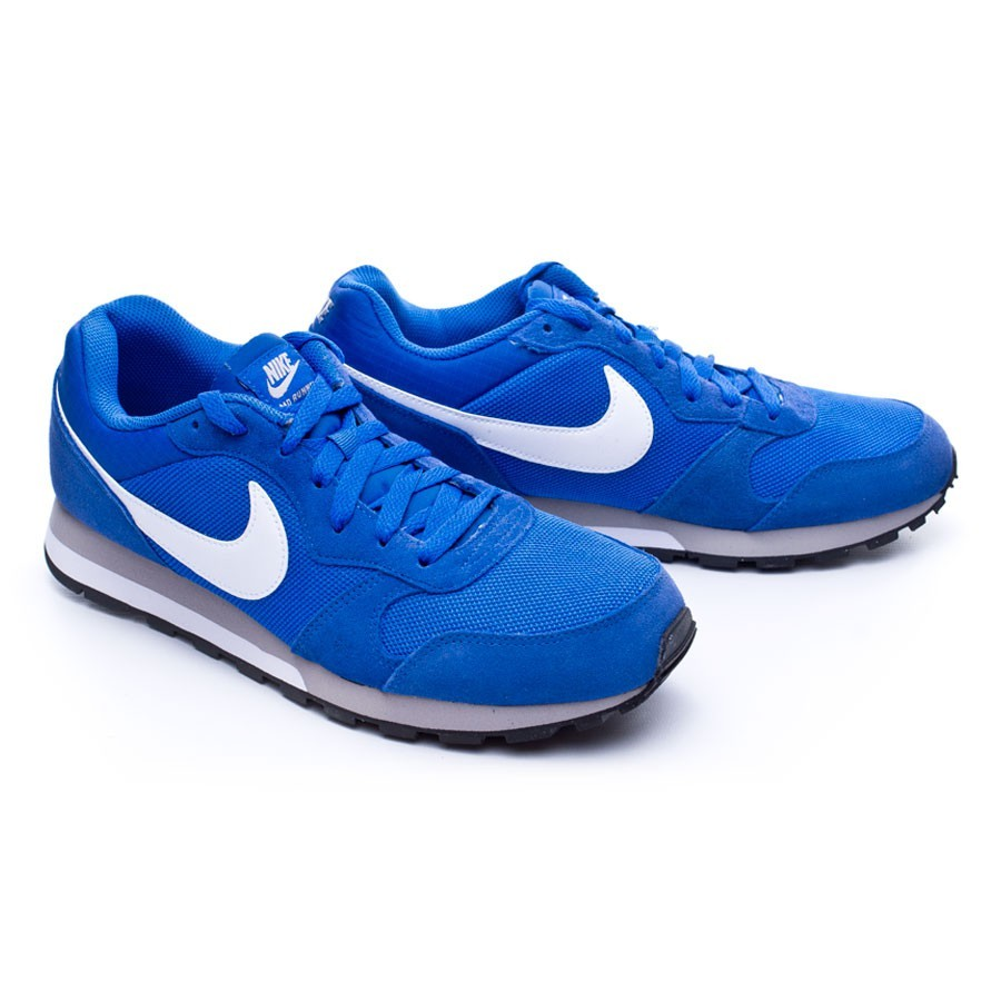 3da08631e40bb Nike MD Runner 2 Trainers. Game royal-White-Wolf grey-White ...