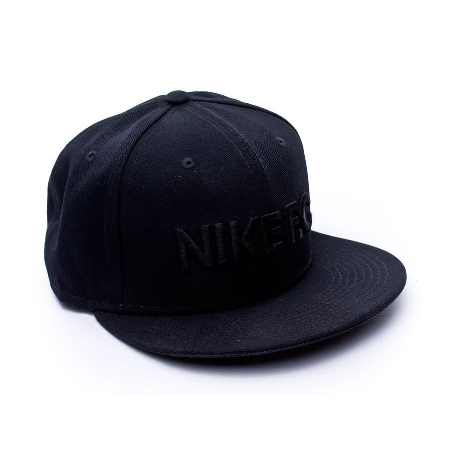 Cap Nike Nike FC True Black-Black - Football store Fútbol Emotion 1a9b388b2ce