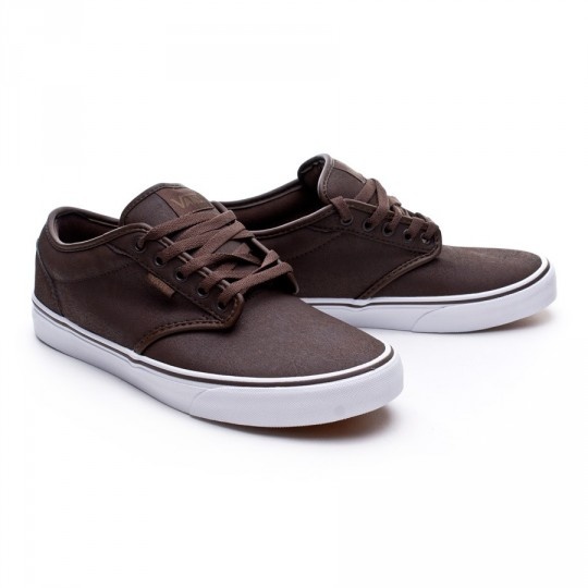 Zapatilla  Vans Atwood Buck Leather Brown