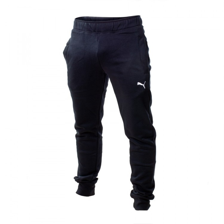 5aa1b64a4e20 Long pants Puma ESS Sweat FL cl slim Black - Football store Fútbol ...