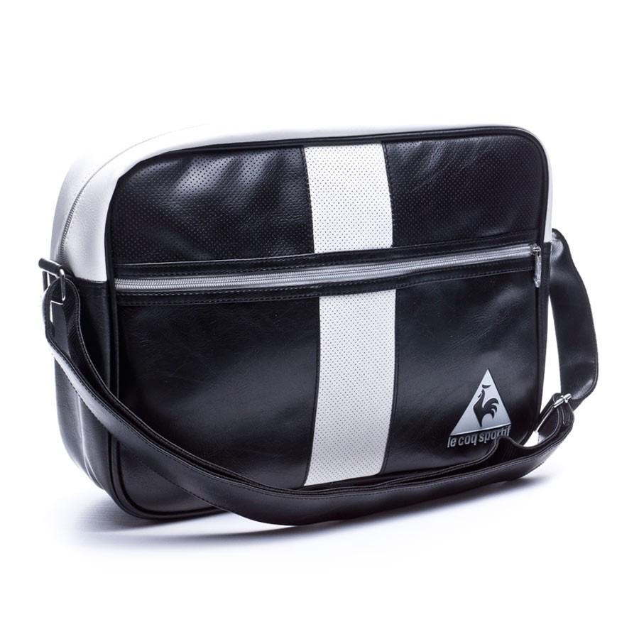 1fb224c067f Bag Le coq sportif Retro Sport Reporter Black - Football store ...