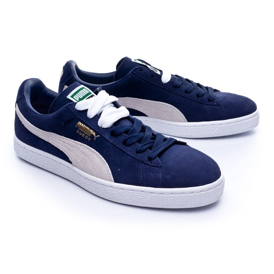 big sale 0bd59 5d582 Trainers Puma Suede Classic + Peacoat-White - Football store Fútbol ...