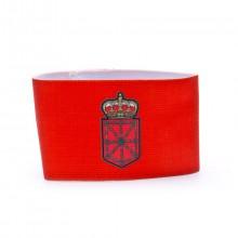 Brazalete Capitán Navarra Rojo