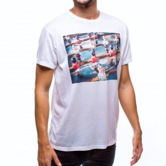 Camiseta  US360º Futbolin Blanco