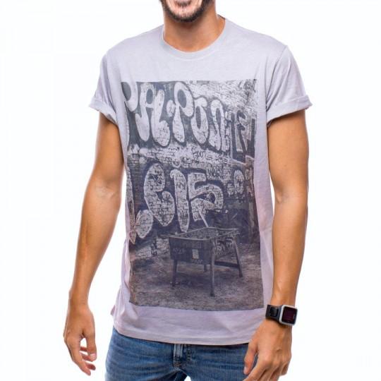Camiseta  US360º Futbolin Retro Gris