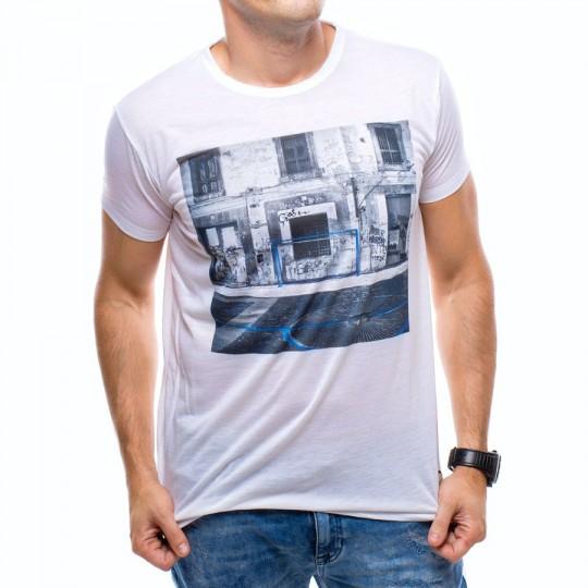 Camiseta  US360º Napoles Blanca