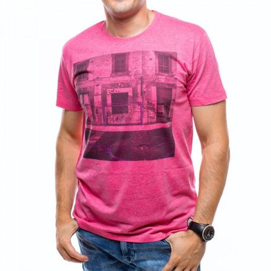 Camiseta  US360º Napoles Fucsia