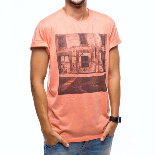 Camiseta  US360º Napoles Coral