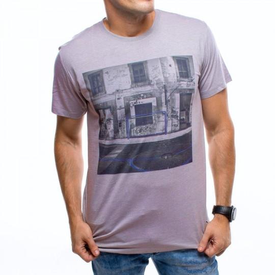 Camiseta  US360º Napoles Gris